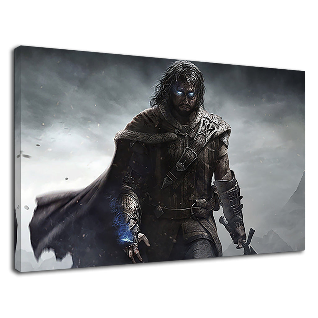 Shadow Of Mordor Shadow Gaming Gamers Poster