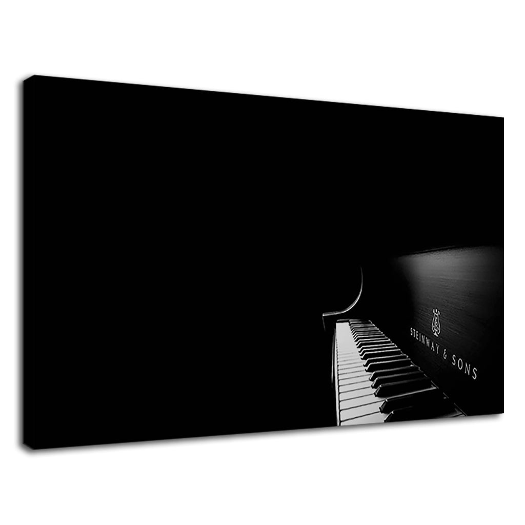 Musical Instrument Acoustic Piano Black And White