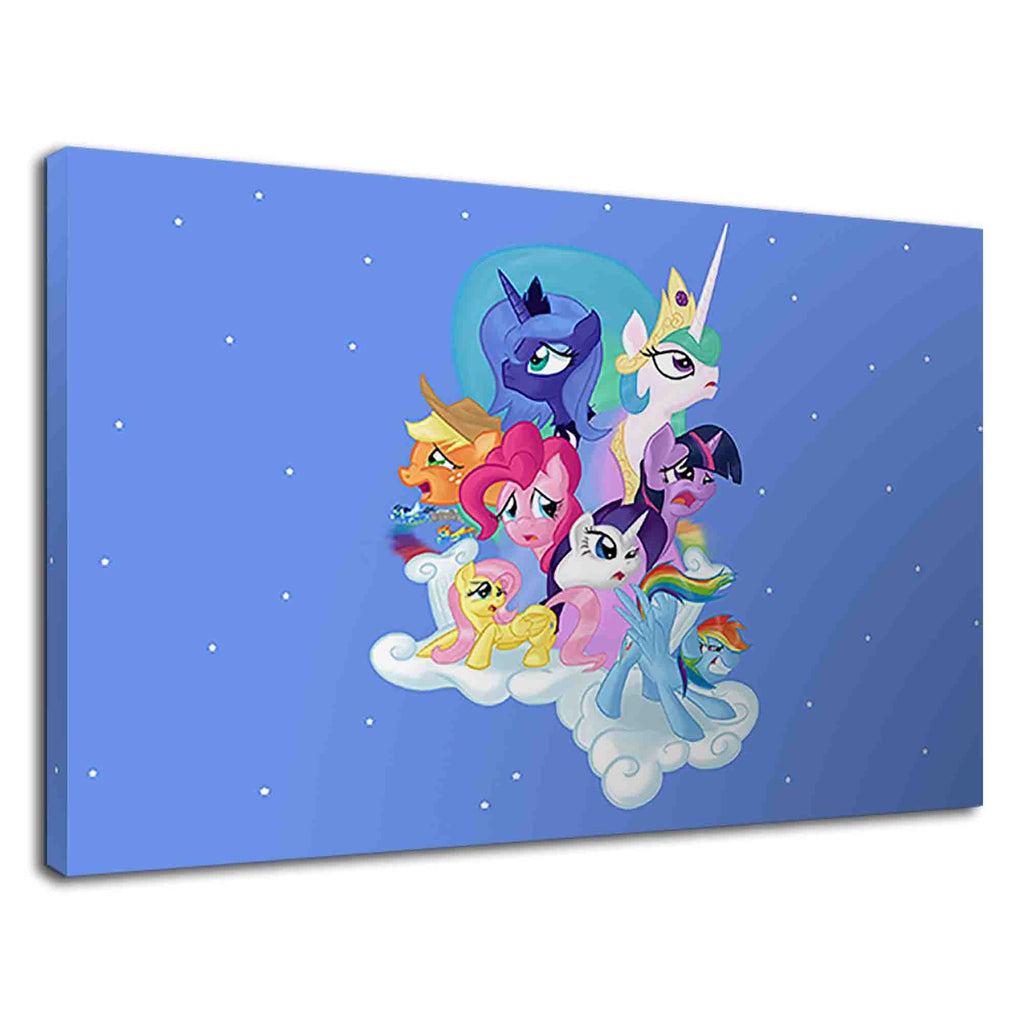 My Little Pony Conceptual Art For Kids Bedroom