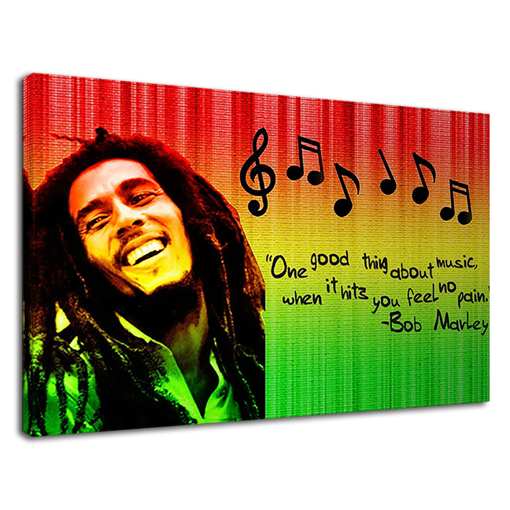 Bob Marley One Love Music Quote Inspirational
