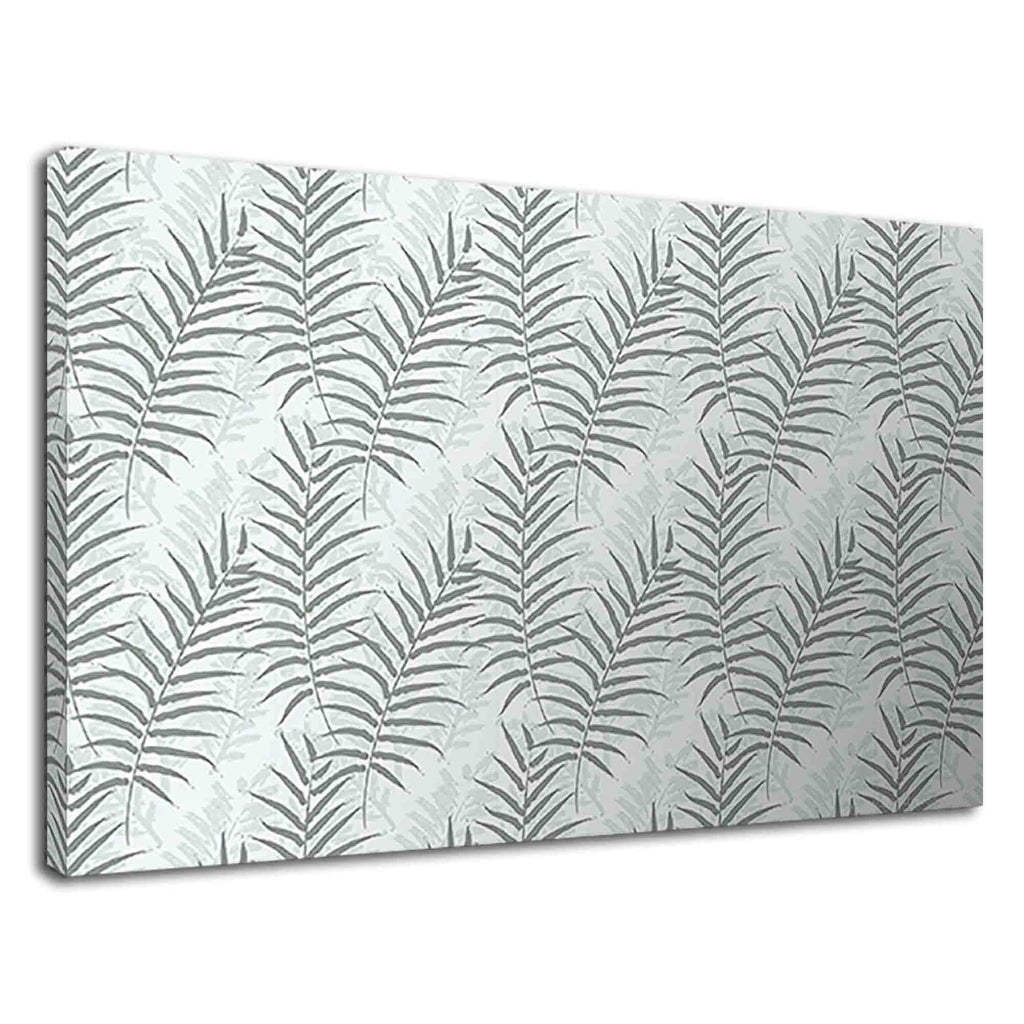 Fern Leaves Abstract Floral Design For Living Room