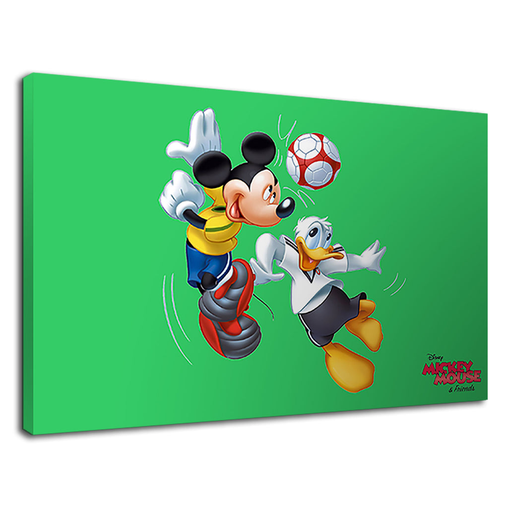 Mickey Mouse And Donald Duck Sports Football Game