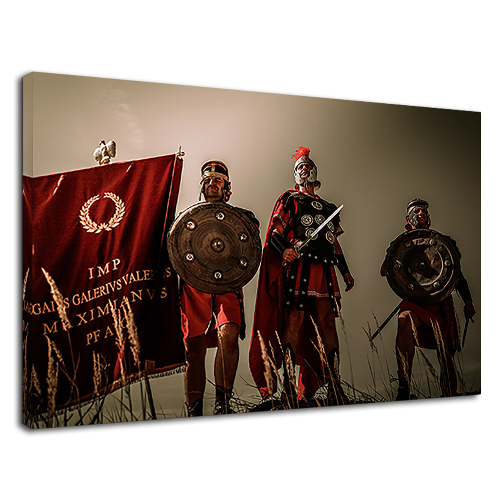 Roman Soldiers Battlefield Warriors