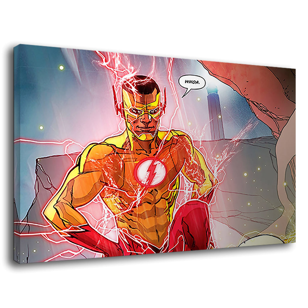 The Flash Whoa Comic Book Graphics Justice League