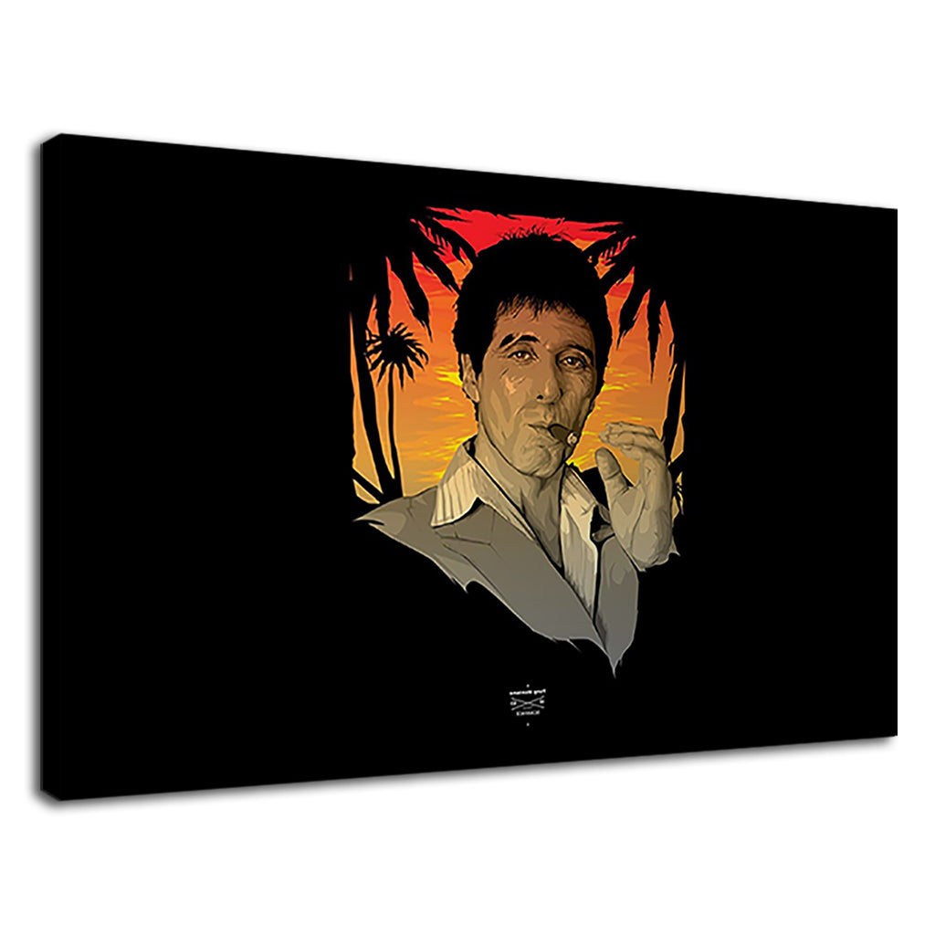 Scarface Tony Montana Al Pacino Film Drug Dealer