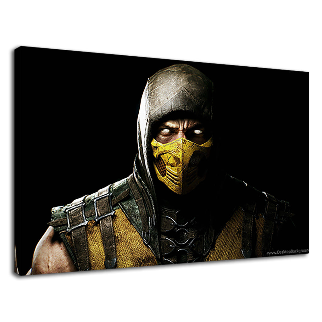 Ultra Hd Yellow Masked Warrior Arcade Game Gamer