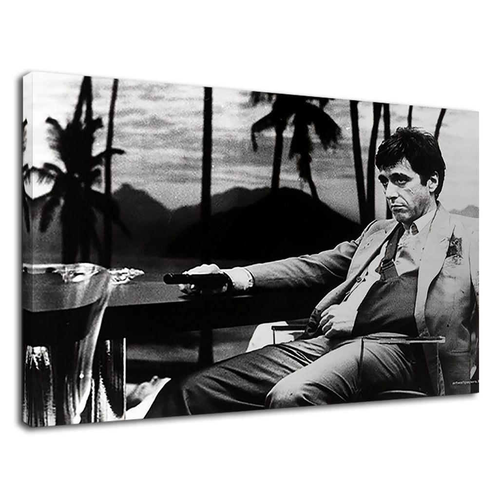 Scarface Tony Montana Movie Al Pacino Say Hello
