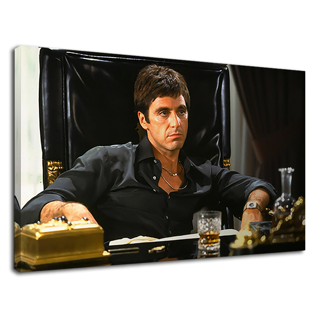 Scarface Tony Montana Movie Al Pacino Whiskey