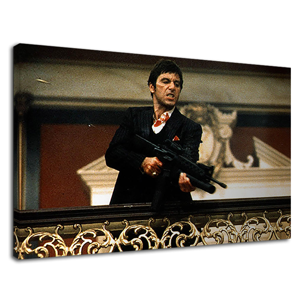 Scarface Tony Montana Cult Al Pacino Say Hello