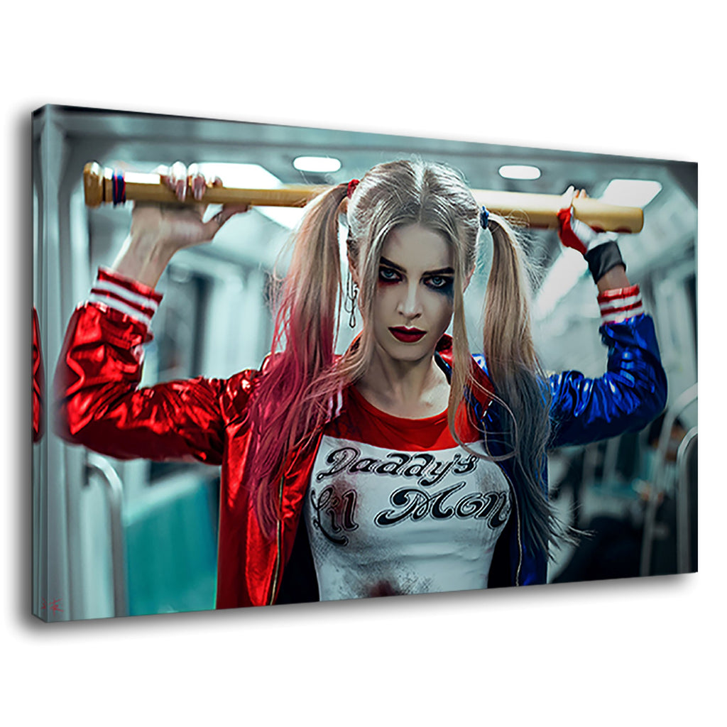 Harley Quinn Baseball Bat Gym Daddy Lil Monster