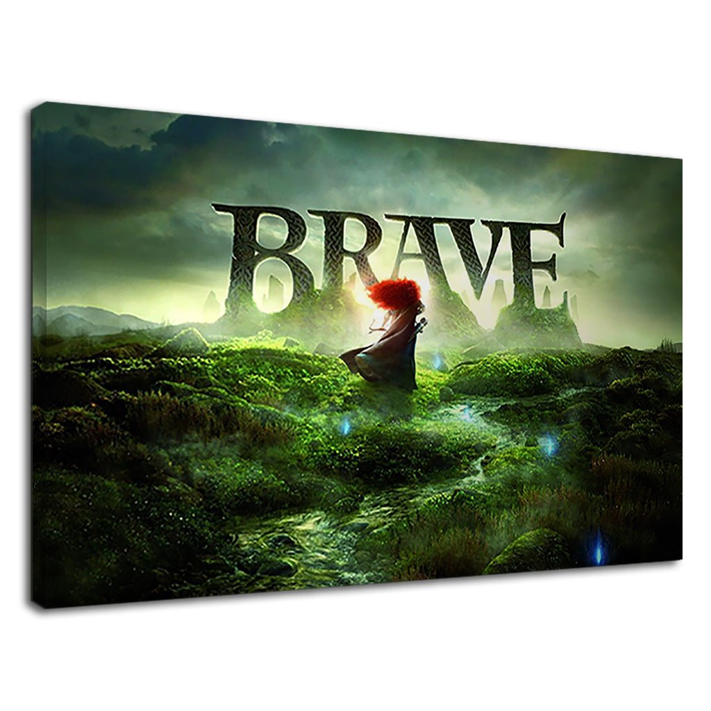 Brave An Animation Movie The Meaning Of Bravery