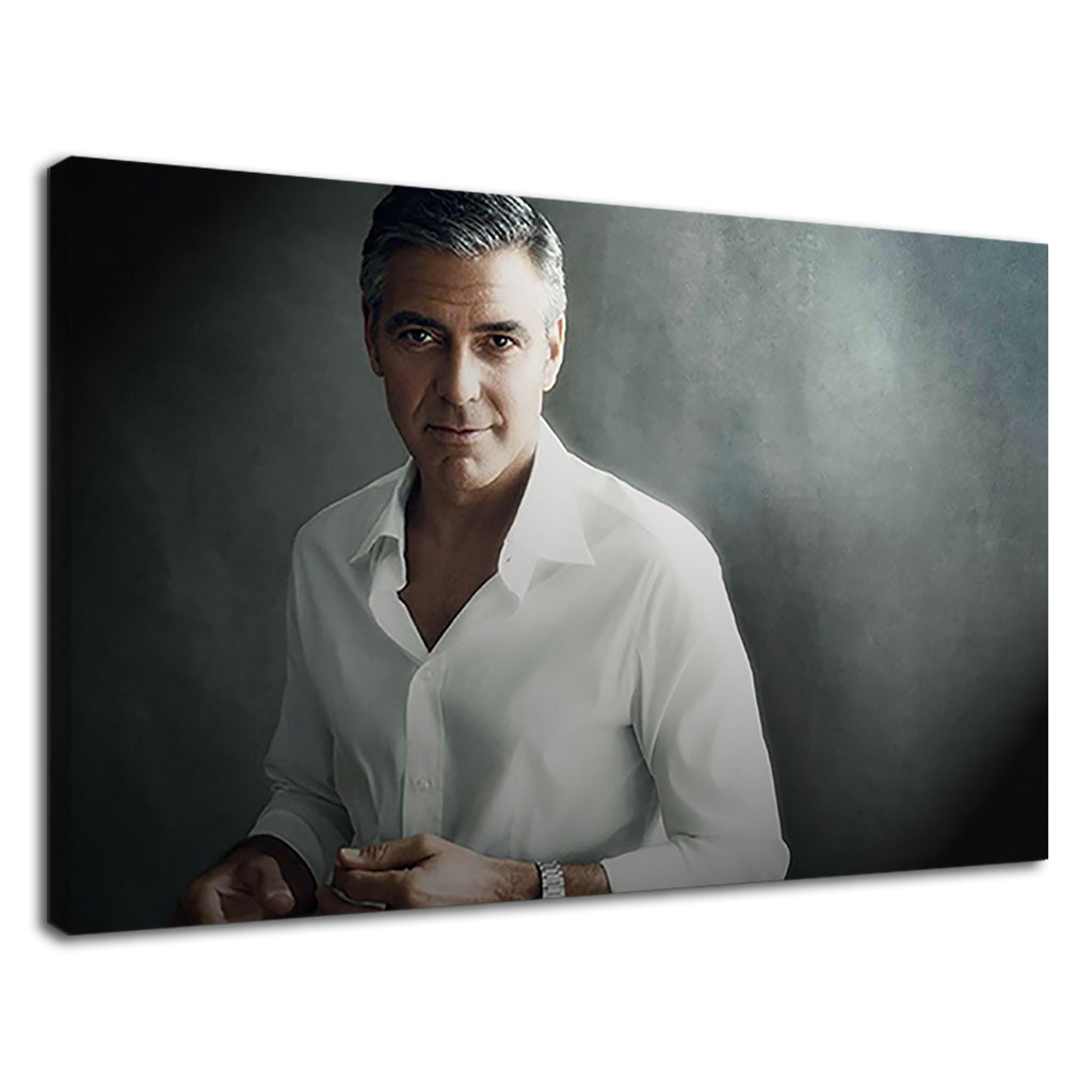 American Actor George Clooney Beautiful Portrait