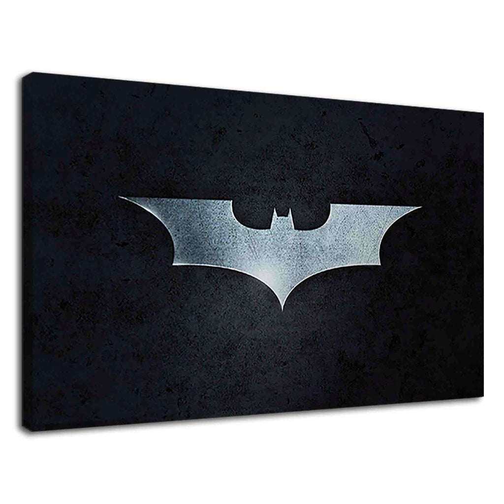 Batman Sign On Grunge Black For Boys Bedroom