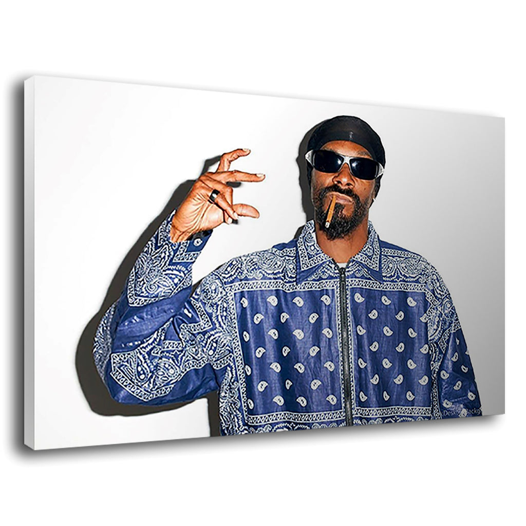 Snoop Doggy Dogg Crips Gangster Rap Hip Hop Legend