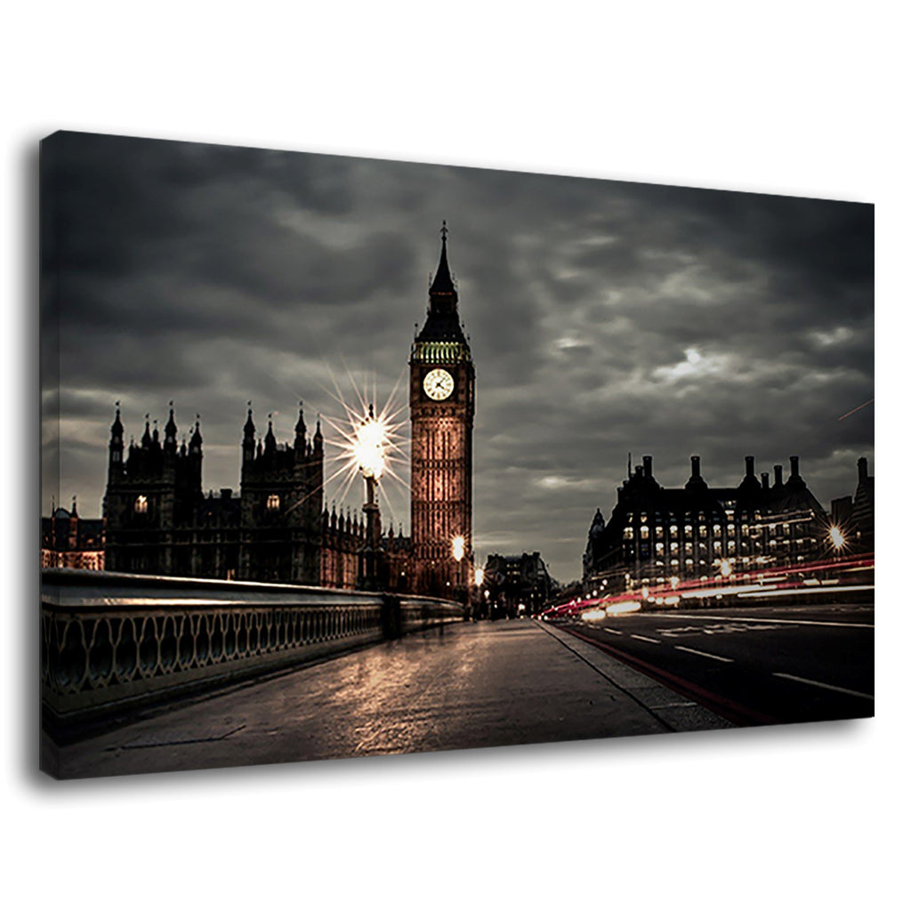Big Ben Beautiful London Westminster Bridge Night
