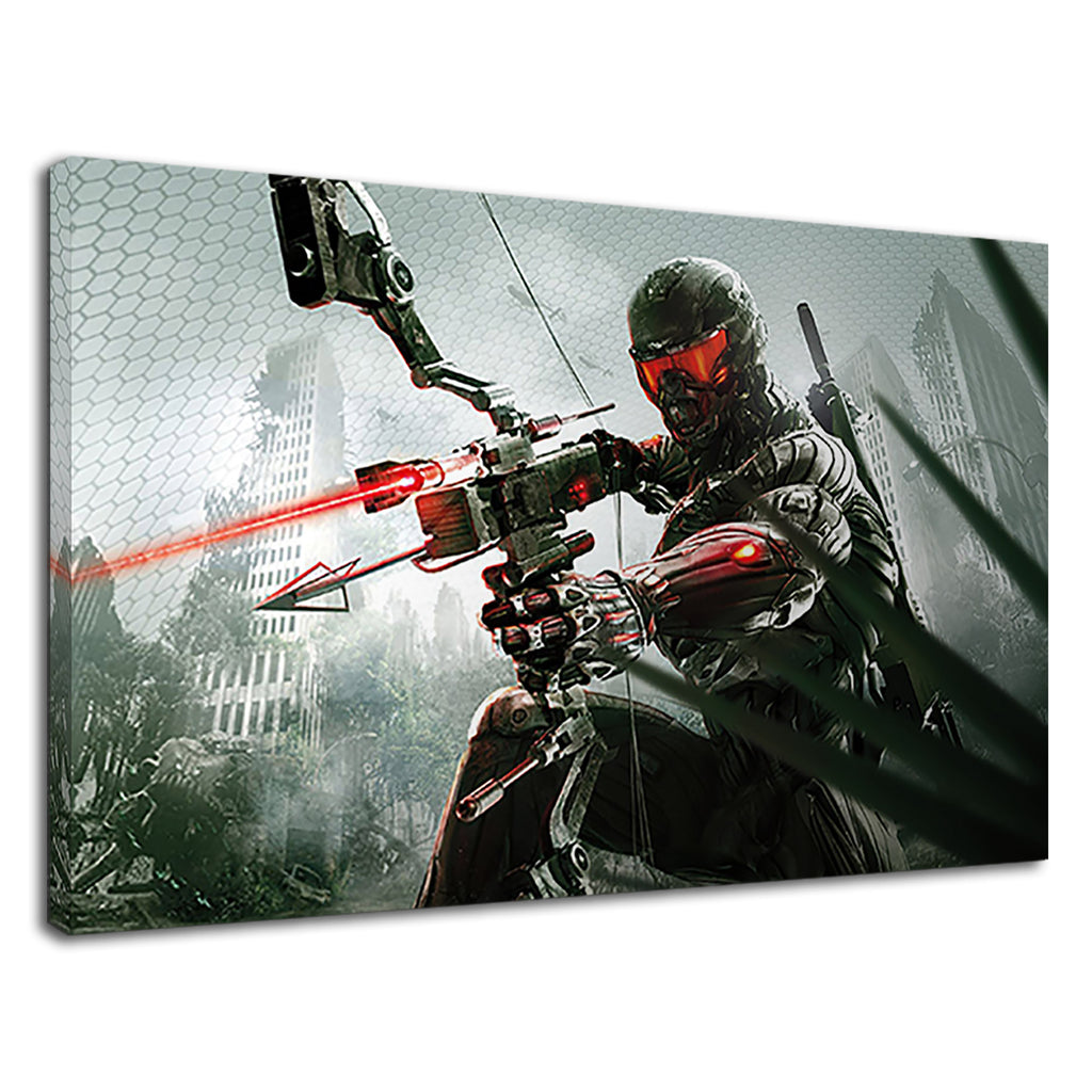 Epic Gamer Soldier Arrow And Gun Gaming Xbox Ps5