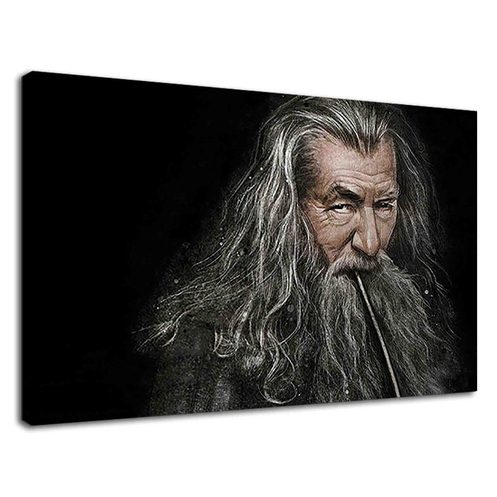 Wizard Gandalf Smoking Pipe For Drawing Room