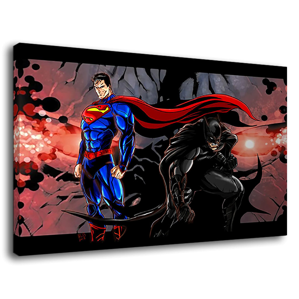 Batman Superman Amazing Cartoon Comic Marvel Dc