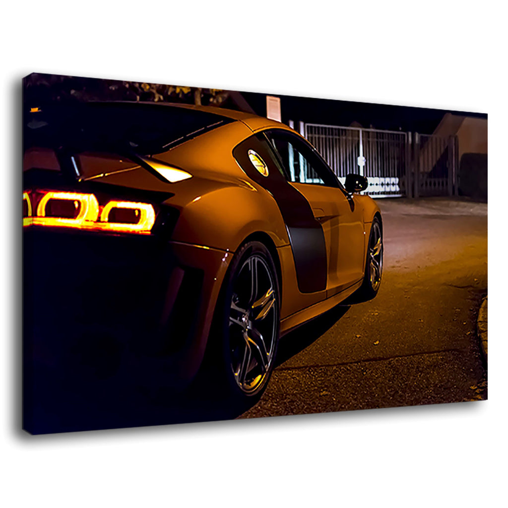 Audi Coupe Gt Limited R8 Sports Car Night Street