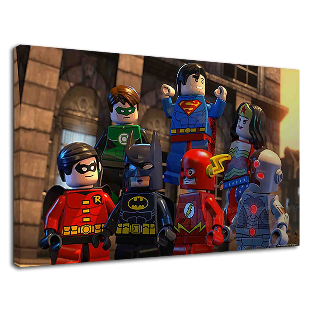 Lego Dc Super Heroes Justice League Digital Art
