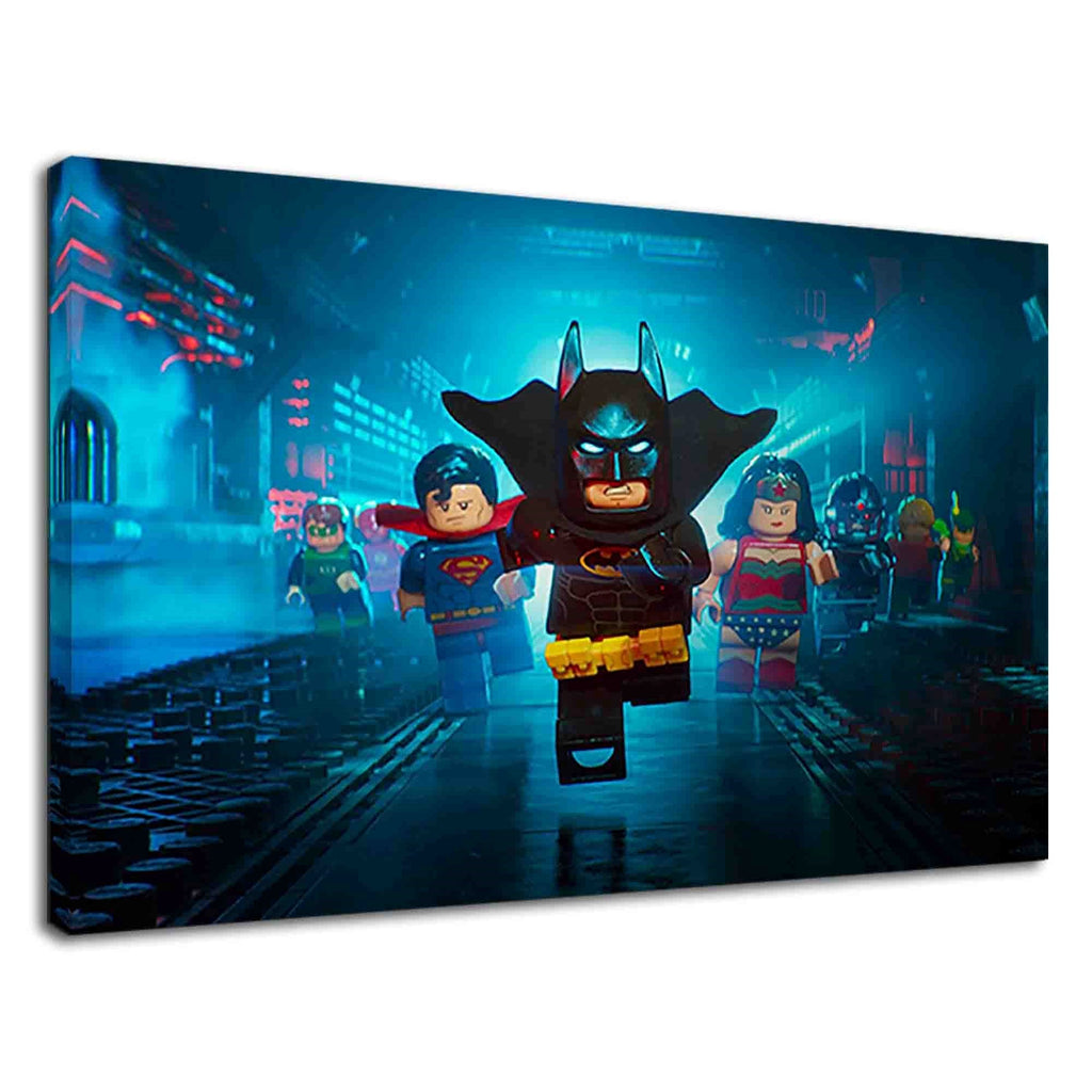 Lego Justice League Digital Art For Kids Bedroom