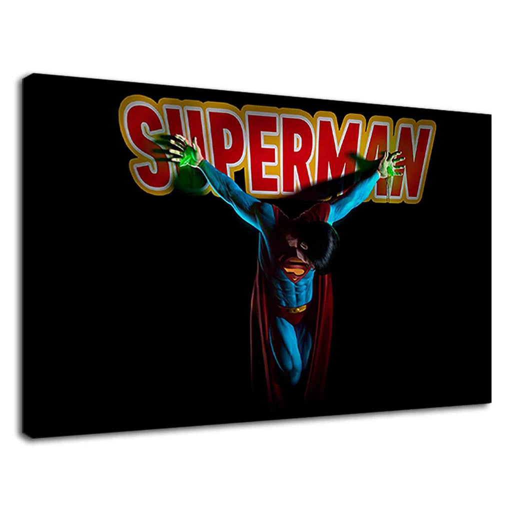 Crucifixion Of Superman For Boys Bedroom
