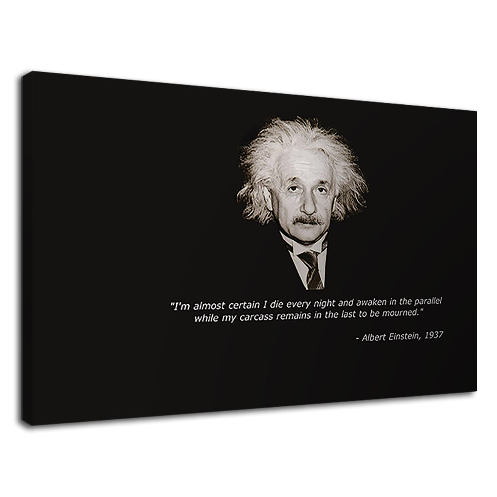 Albert Einstein Scientific Genius Quote Every Night