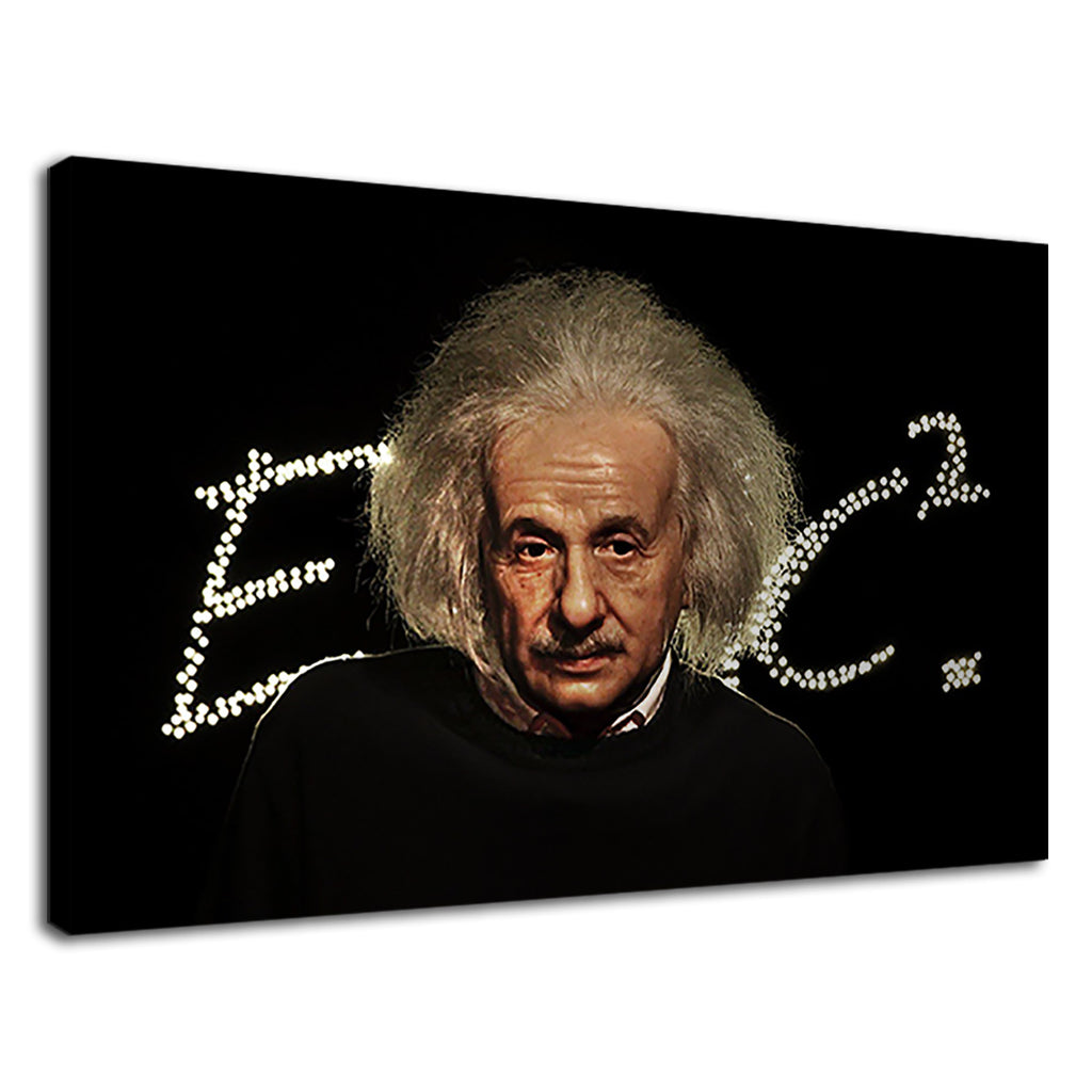 Albert Einstein Scientific Genius Theory E=Mc2