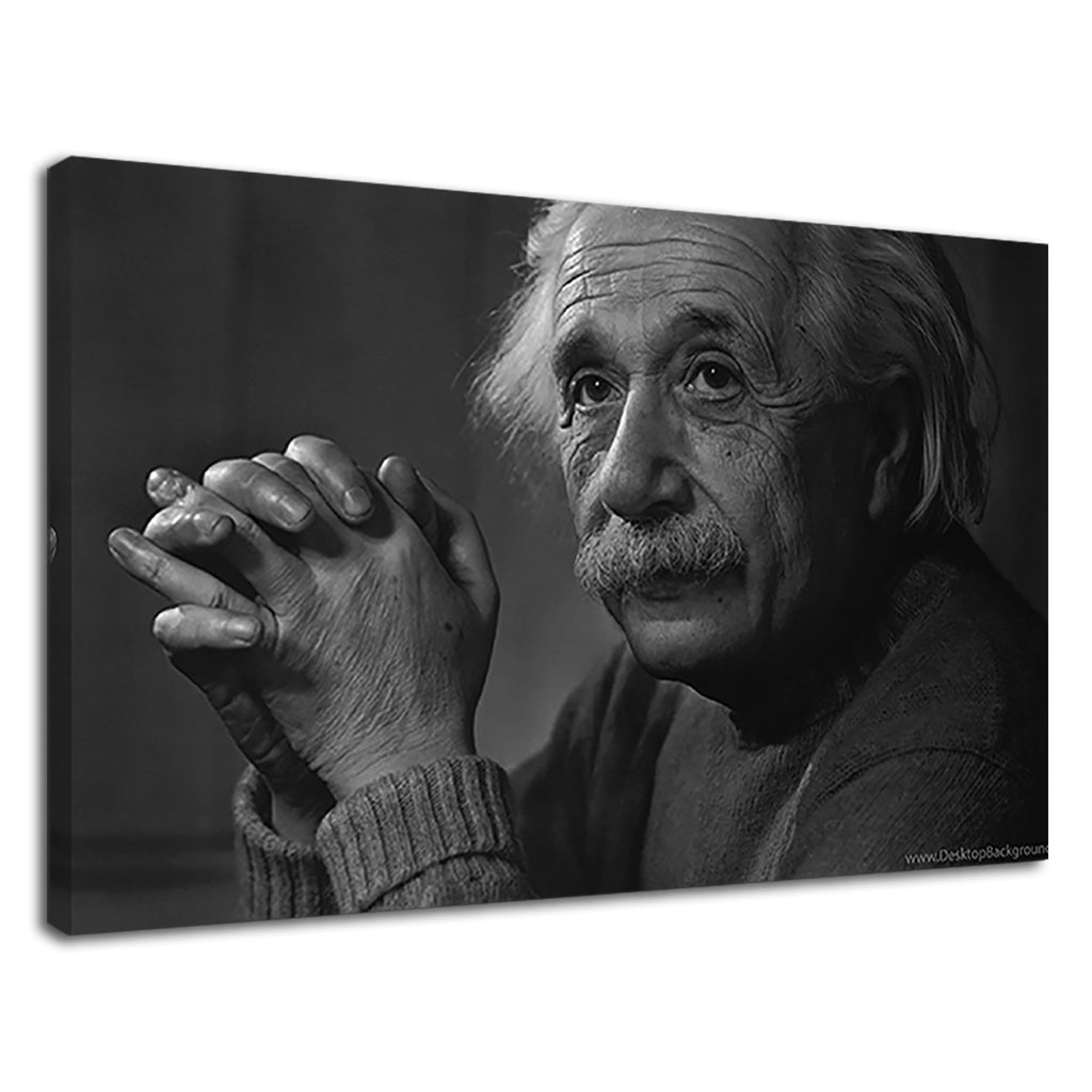 Albert Einstein Scientific Genius Frank Thinking