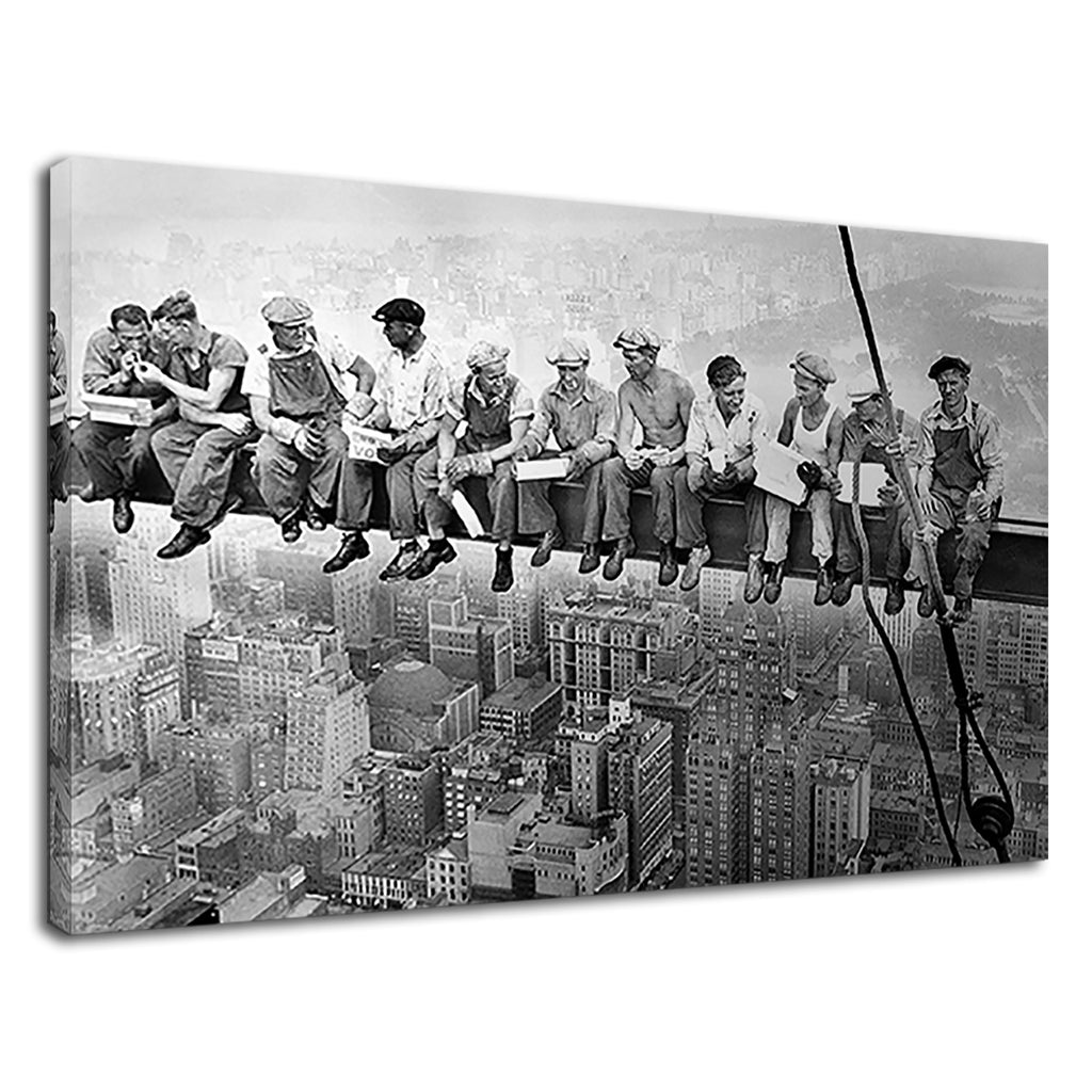 Men On Empire State Building Vintage Collection