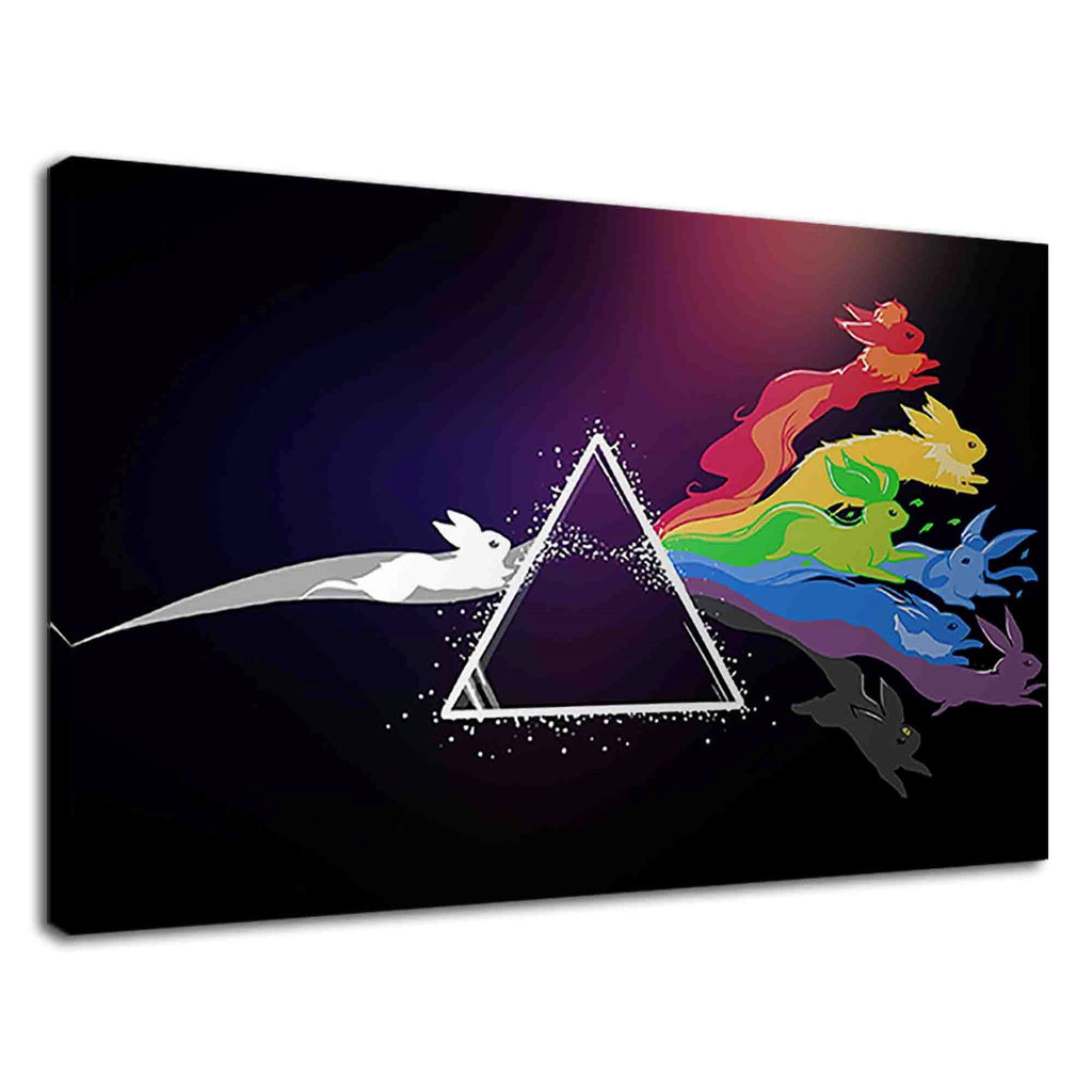 Pink Floyd Pokemon Digital Art For Boys Bedroom
