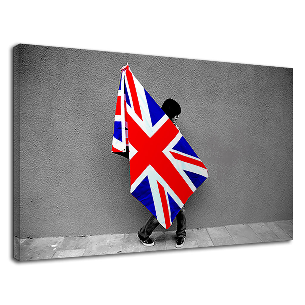 British Flag Union Jack Pop Grunge Britpop Oasis