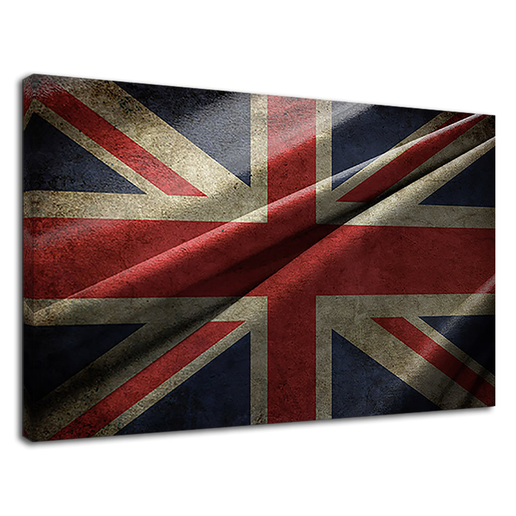 British Flag Union Jack Pop Grunge Britpop Flag