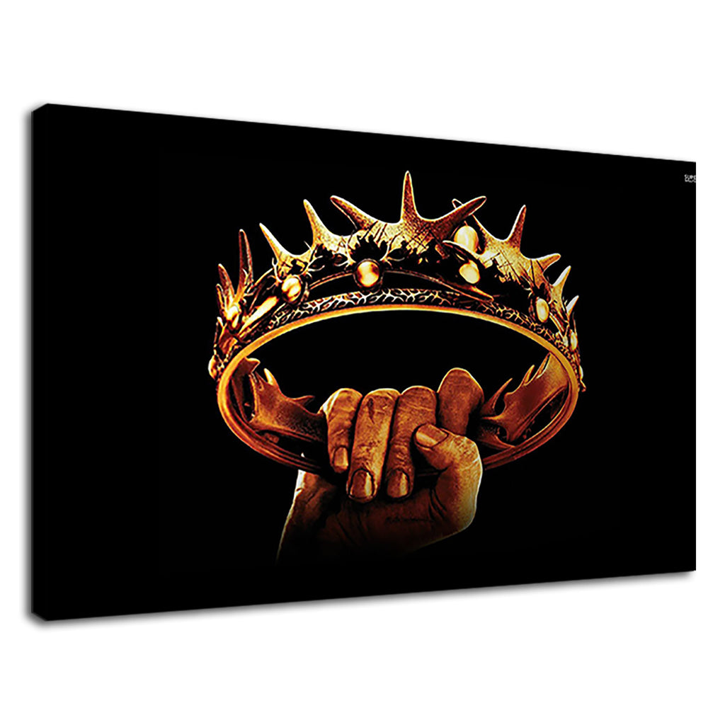 Fantasy Game Of Thrones Style Golden Crown King