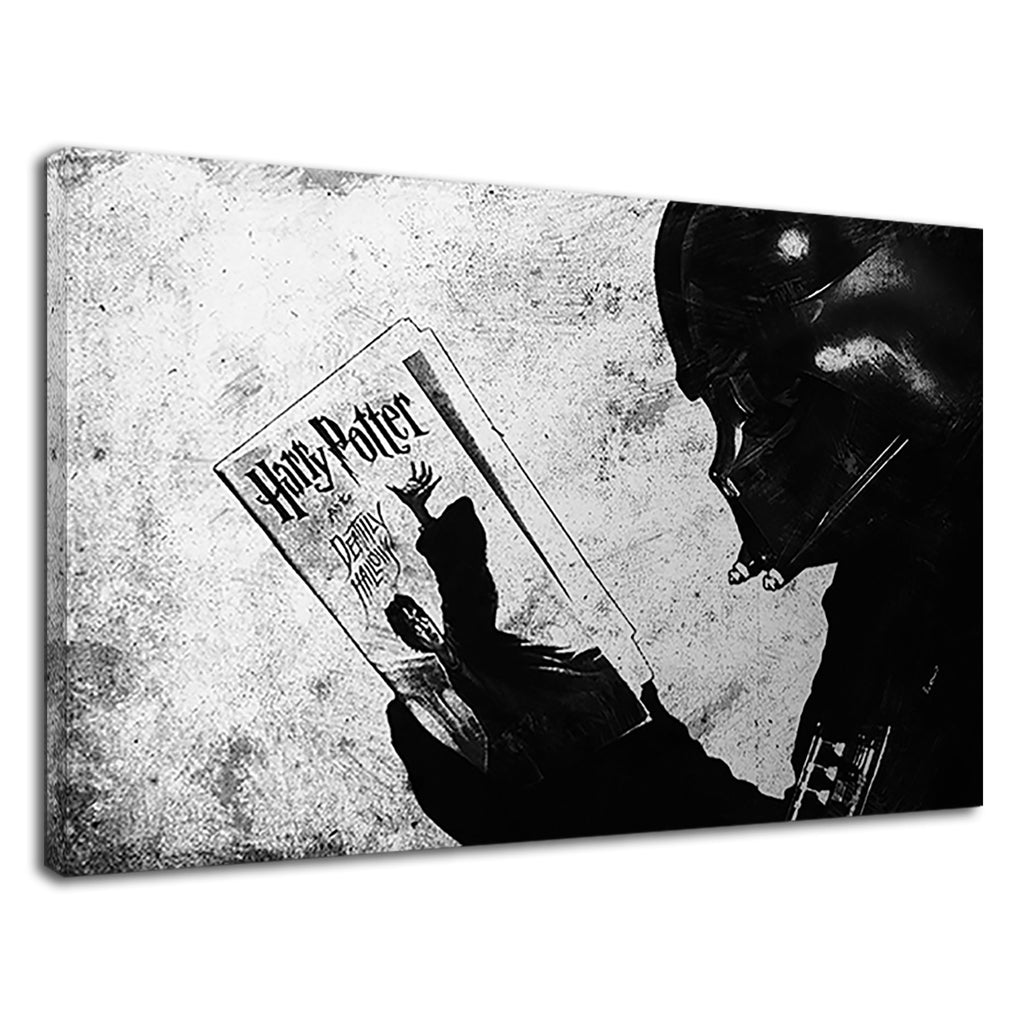 Cool Darth Vader Read Harry Potter Deathly Hallows