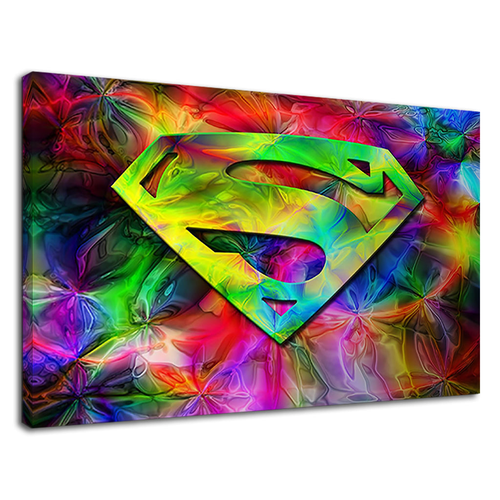 The Hero Of Comics Superman For Kids Bedroom