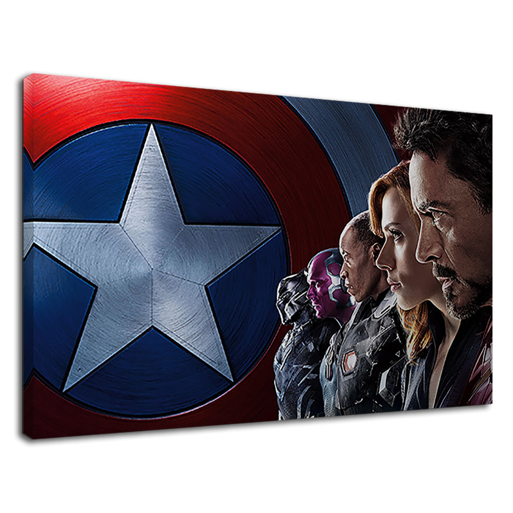 Captain America Civil War Iron Man Movie Shield