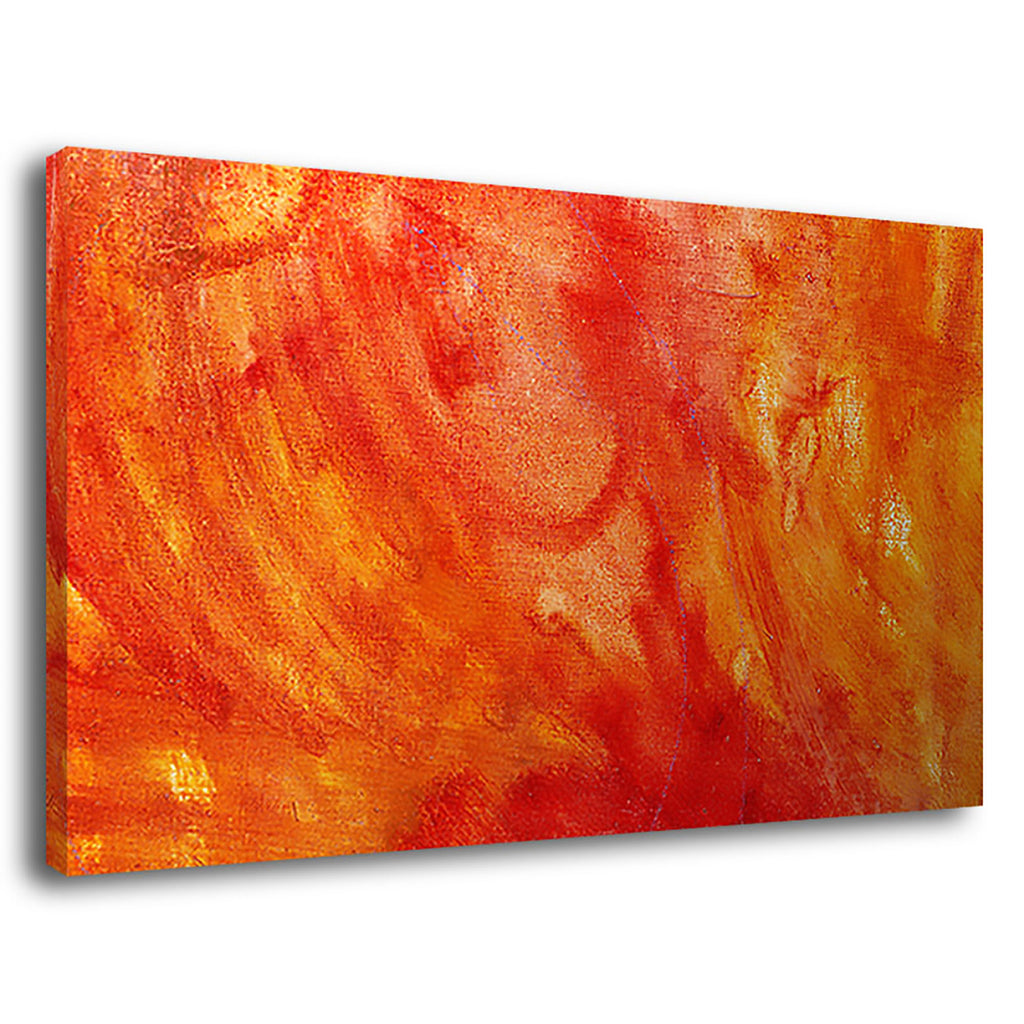 Heat 1 Painting Oils Canvas Hot Heat Summer Fire
