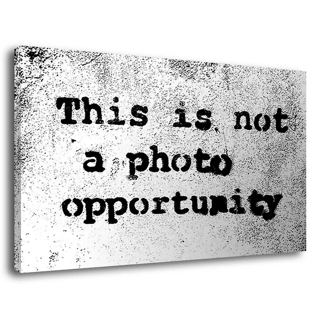 Banksy Photo Opportunity Photo Opportunity Pop