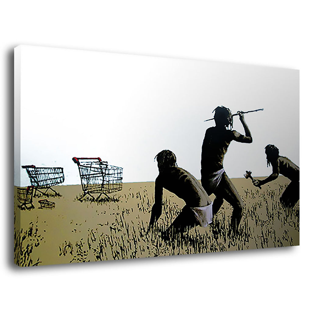 Banksy Trolley Hunters Trolley Hunters Pop Banksy