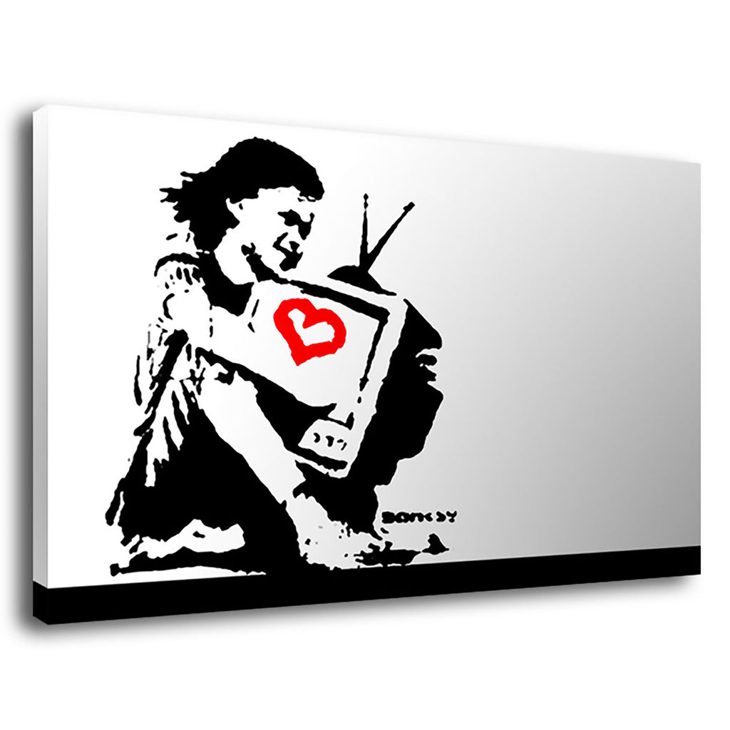 Banksy Tv Girl Tv Girl Pop Banksy Street