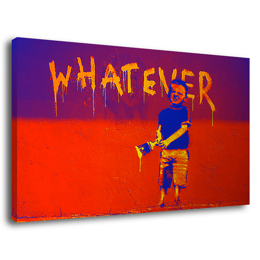 Banksy Whatever Whatever Pop Banksy Street Art