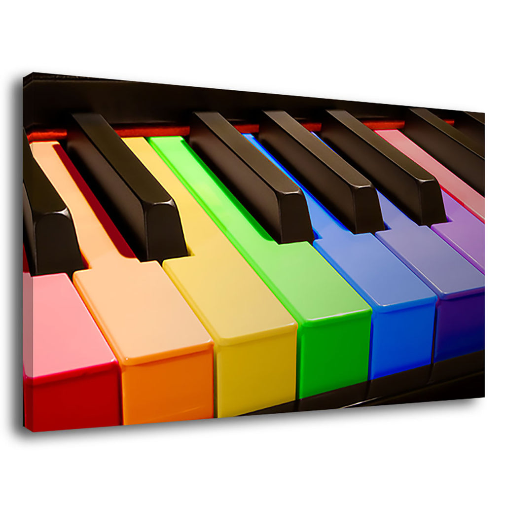 Rainbow Piano Piano Rainbow Music Musical