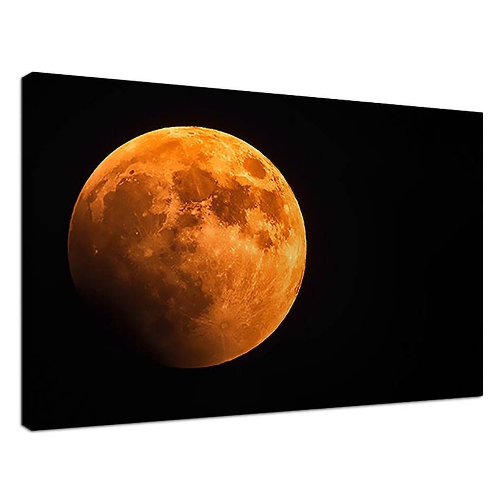 Red Planet Orange Space Moon Sky Yellow