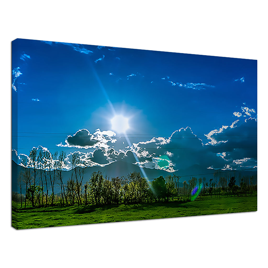 New Zealand Summer Blue Sky Skies Sunset Green