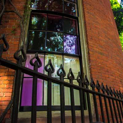 beacon hill purple window panes