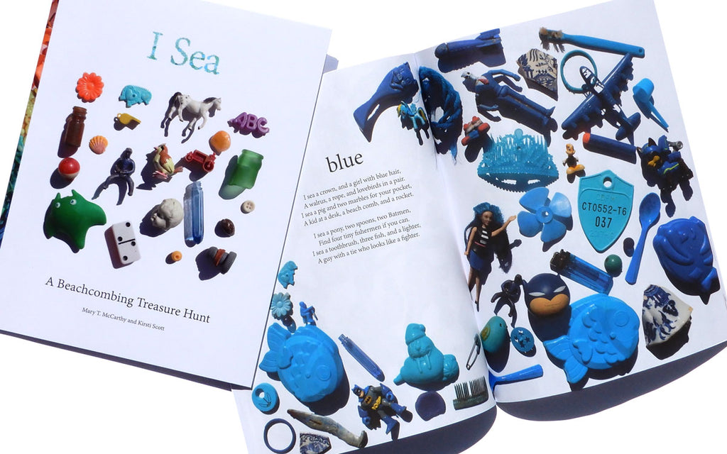 I Sea: A Beachcombing Treasure Hunt