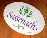 Sassenach Sea Glass Bumper Sticker
