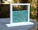Wanderer Stand Up Bling Beach Glass Display Window