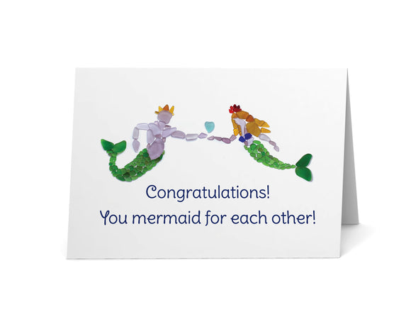 Sea Glass Mermaid & Merman